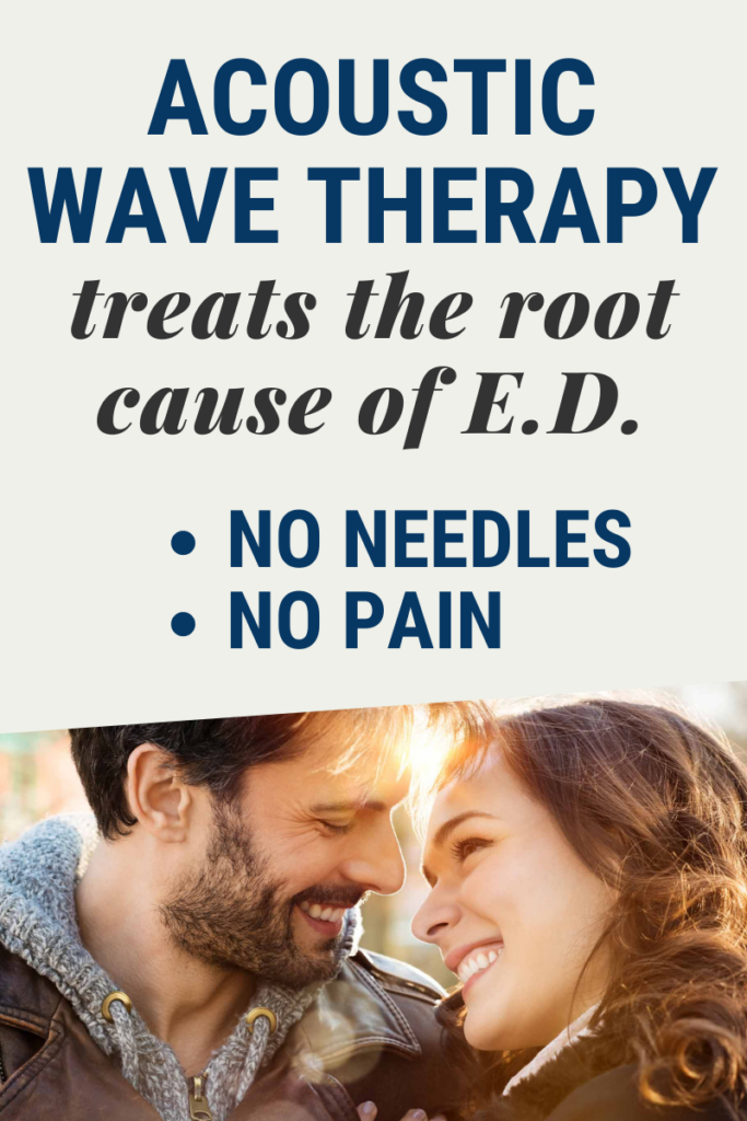 ACOUSTIC WAVE THERAPY TREATS ED
