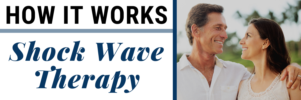 how does shock wave therapy work for erectile dysfunction