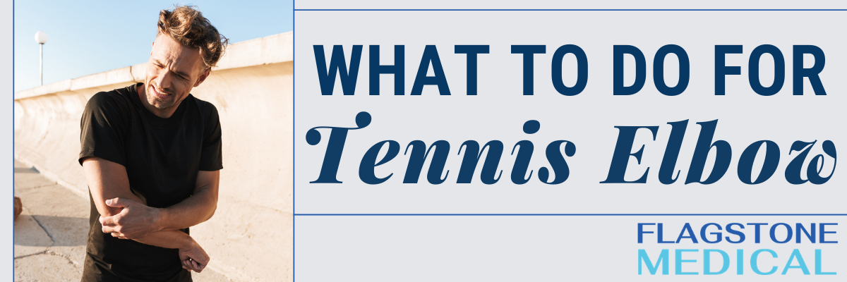 what to do for tennis elbow