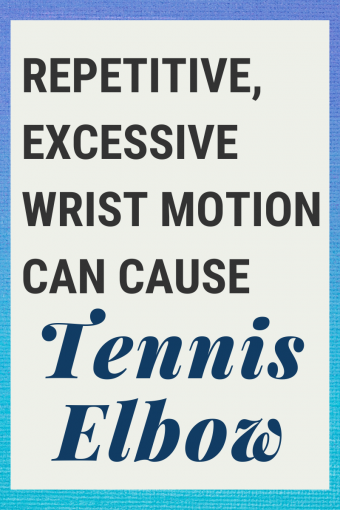 what to do to fix tennis elbow